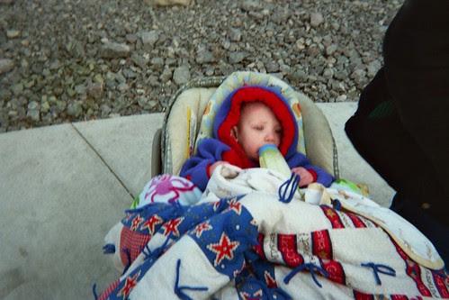 Homeless Baby Girl