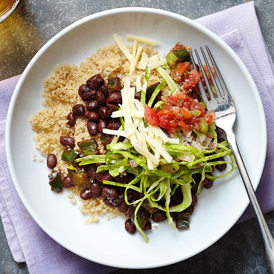 Tex-Mex Black Bean & Quinoa Bowl