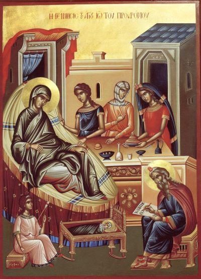 Nasterea Sfantului, slavitului Prooroc, Inainte-Mergatorul si Botezatorul Domnului, Ioan