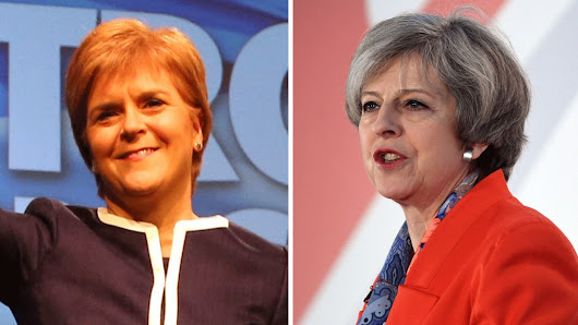 Sturgeon vows to plough on with second Scottish independence referendum - despite May's rejection