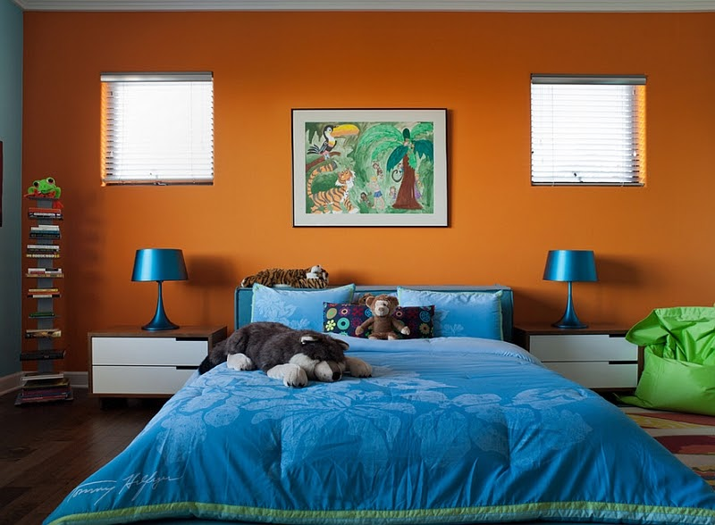 Beautiful Bedroom Color Schemes Blue Photos