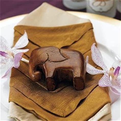 Lucky Mini Wood Elephant Favor   4 pcs   Wedding, Favorite