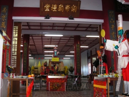 kobe guan gong temple hungry ghost festival