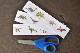 Dinosaur Cutting Strips