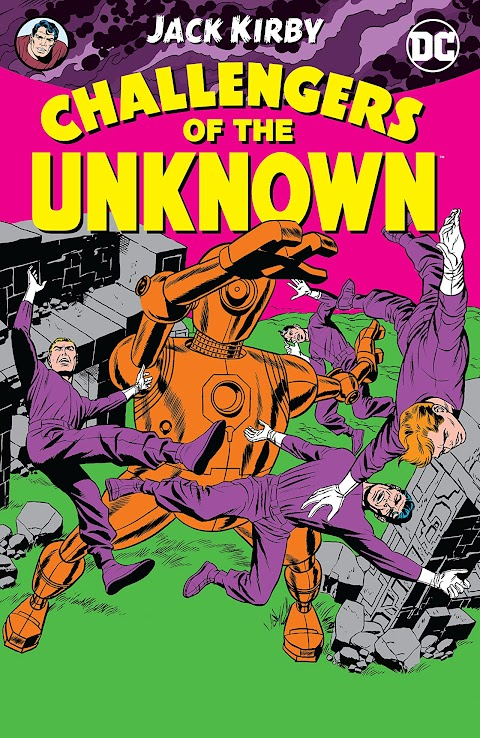 Challengers Of The Unknown Comic Book