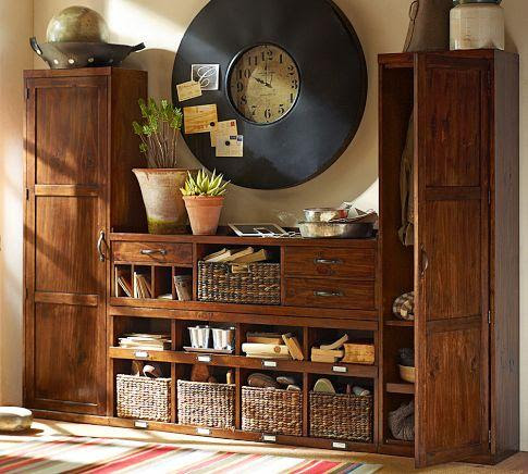 Entryway Systems Furniture - Kitchen Layout and Decorating Ideas