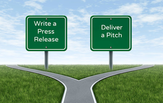 The pros and cons of press releases vs. pitches