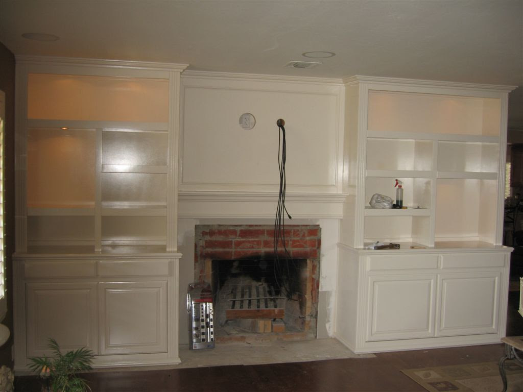 Built In White Entertainment Center Cabinets ⋆ Cabinet ...