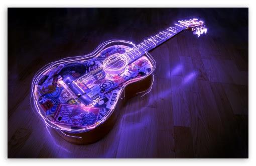 Guitar Creative Art Ultra Hd Desktop Background Wallpaper For 4k Uhd Tv Widescreen Ultrawide Desktop Laptop Tablet Smartphone