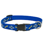 "Lupine 41801 Originals Adjustable Collar For Small Dogs, Dapper Dog, 3/4""x9-14"""