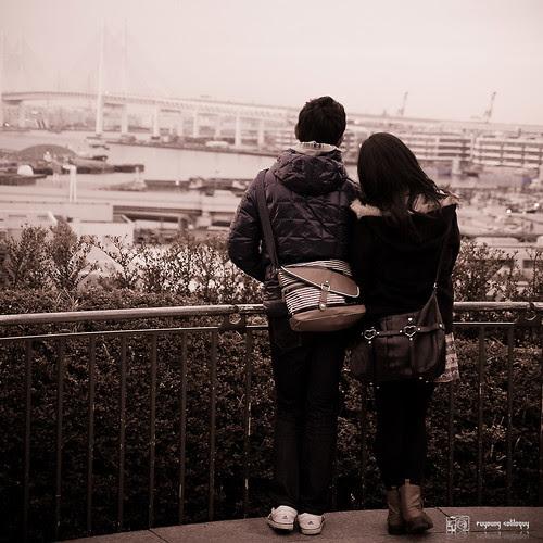#14 橫濱元町,情侶