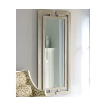 Low prices extra long contemporary silver wall mirror full for Long silver wall mirror