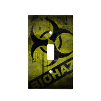 Bio Hazard Light Switch Zombie Walking Light Switch Covers
