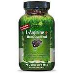 Irwin Naturals L-Arginine + Horny Goat Weed - 75 Liquid Softgel