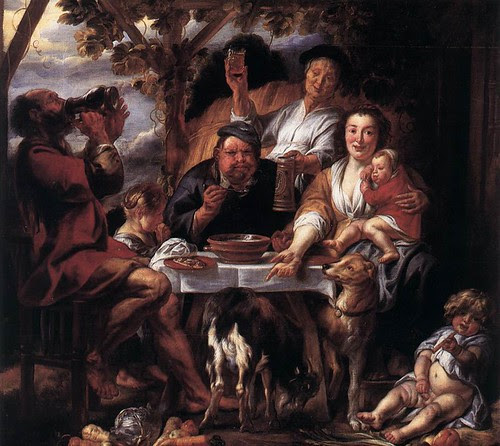 Jordaens-satyr-and-peasants