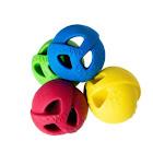 Wo Ball Dog Toy Yellow