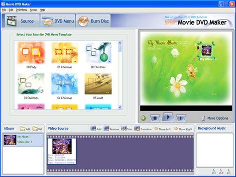 screenshot  dvd maker