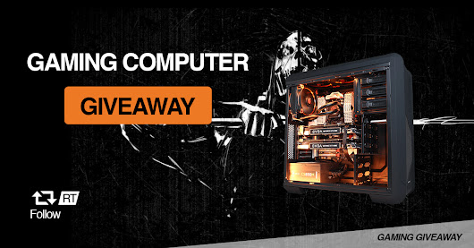 Gaming Giveaway Promotion Computer Giveaway
