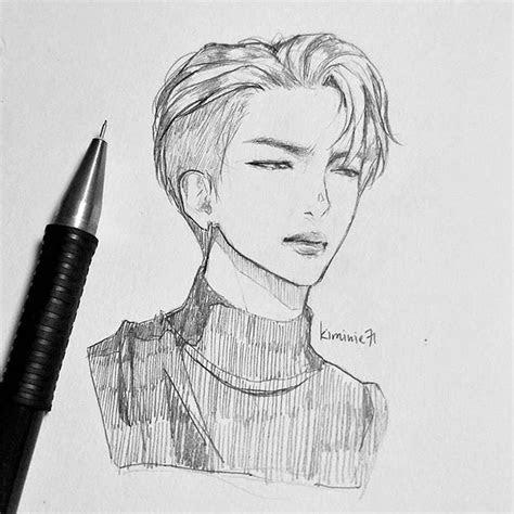rm namjoon btsrm bts btsfanart drawing sketch