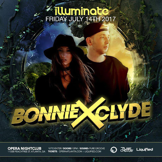 Discount Pre-Sale Tickets for Bonnie X Clyde at Opera Atlanta - July 14th, 2017 - Use Promocode SINNER