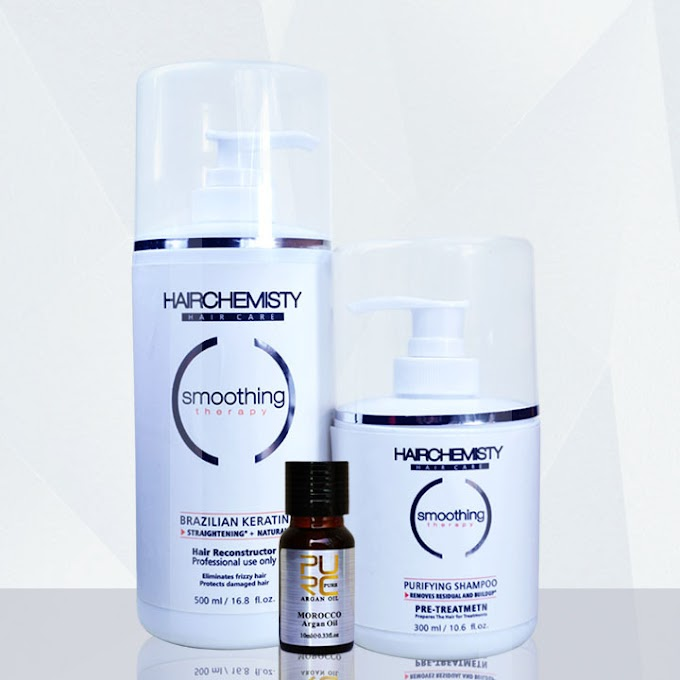 Keratin 500ml 8% formaldehyde straighten hair hair care treatment and 300ml purifying shampoo