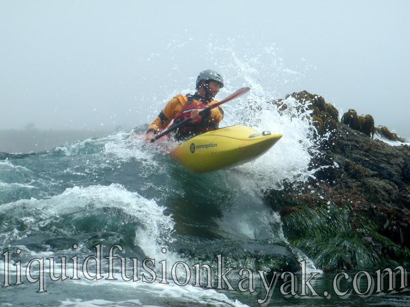 kayak rock garden mendocino