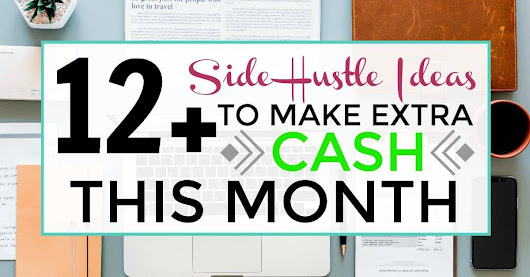 12+ Side Hustle Ideas To Make Extra Cash This Month - ILIKETODABBLE