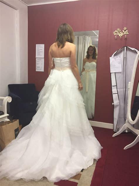 Vera Wang Style wedding dress   Sell My Wedding Dress