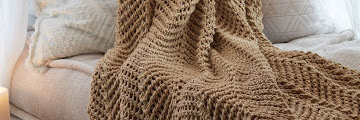 Knitted Throws Patterns Free