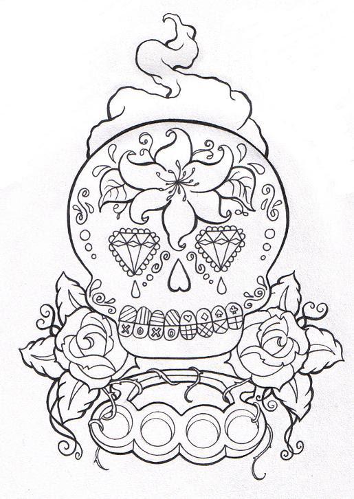 Custom Cover-up WIP 1 - flower tattoo