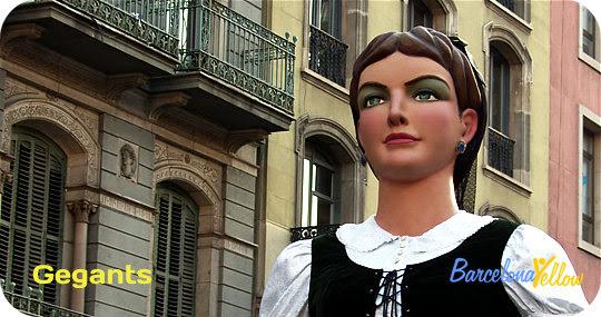 La Merce Festival Barcelona giants