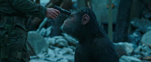 WAR OF THE PLANET OF THE APES trailer brings the ape vs. man battle to a head | Midroad Movie Review