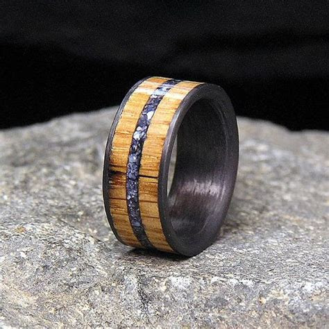 14 best Carbon fiber wedding bands and rings images on