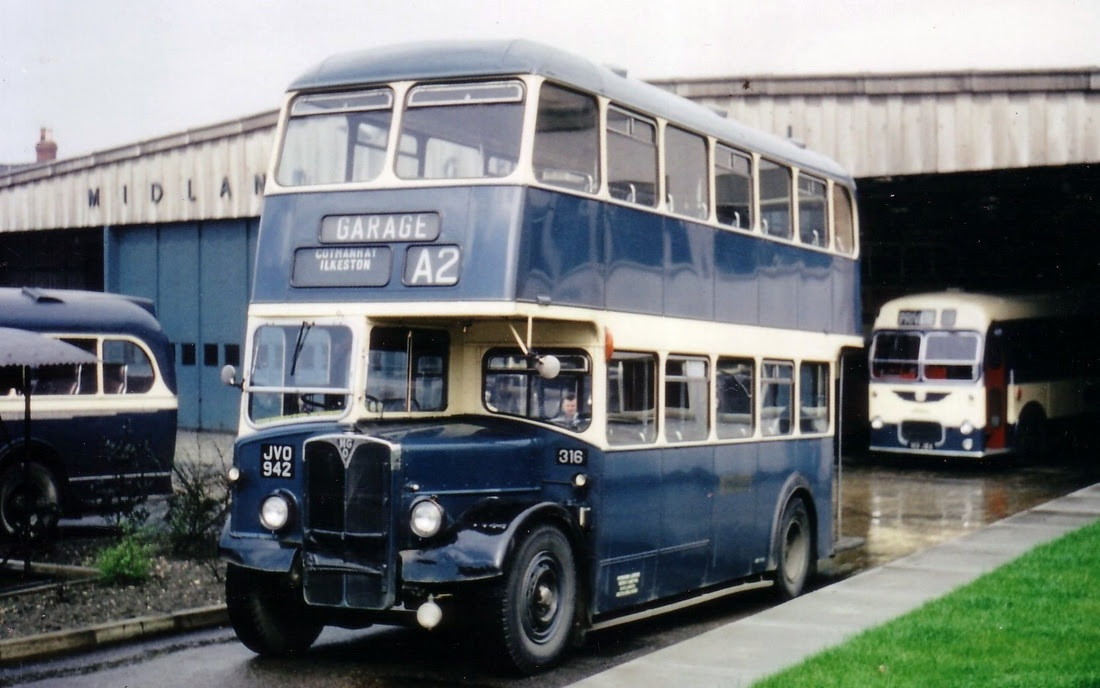 Notts & Derby Buses - Midland General Omnibus Company
