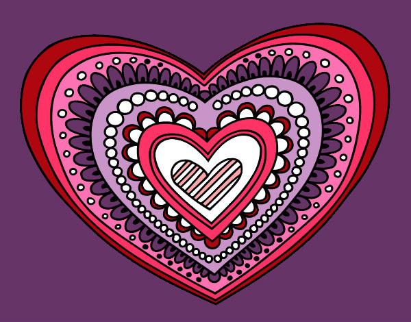 Dibujo De Amor De Tiempo Completo Pintado Por Shamy En Dibujosnet