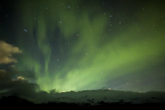 el cielo de las auroras