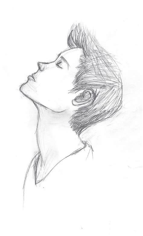 boy  girl love simple sketch simple drawings  love