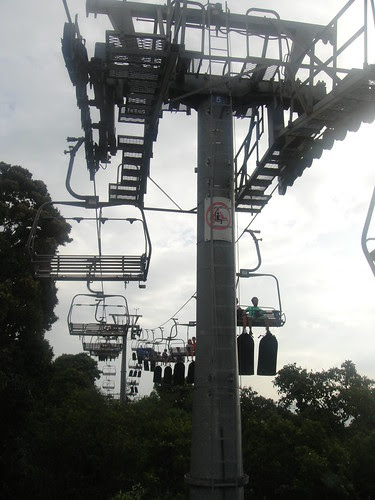 Yipee on the Skyride