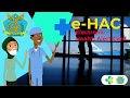 E-HAC Kartu Kewaspadaan Kesehatan Elektronik : Cara Pengisian