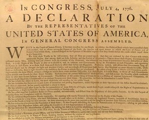 Only two people signed the Declaration of Independence on July 4th, John Hancock and Charles Thomson. Most of the rest signed on August 2, but the last signature wasnt added until 5 years later.