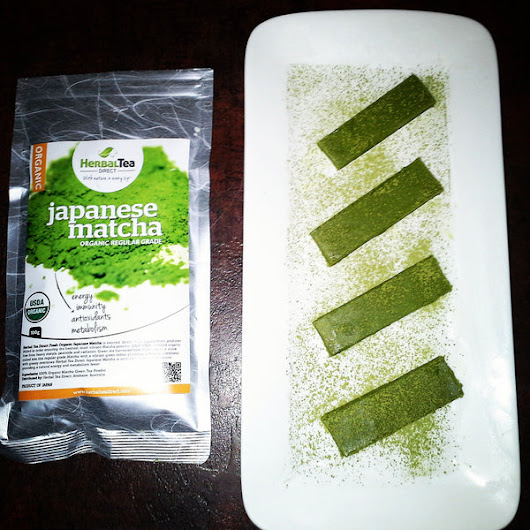 Matcha White Chocolate Fudge Recipe - Herbal Tea Direct