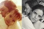 Leitores recriam fotos de infância com as mães (Viviane Barros Lima/VC no G1)