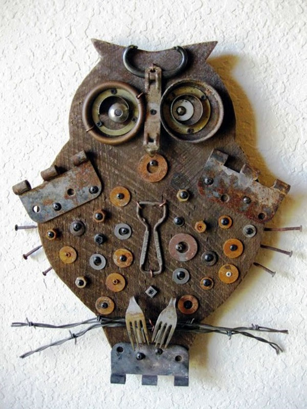 Utterly Beautiful Rusted Metal Art Works (40)