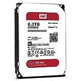 WD HDD 内蔵ハードディスク 3.5インチ 8TB Red WD80EFZX / 5400rpm / SATA 6Gb/s / 3年保証