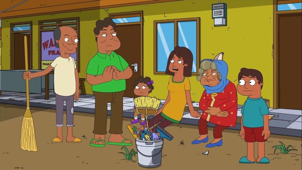 90+ Gambar Animasi Kerja Bakti Di Rumah HD