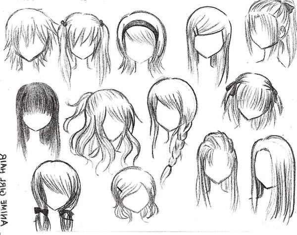 Top 10 Picture Of Anime Girl Hairstyles Natural Modern Hairstyles