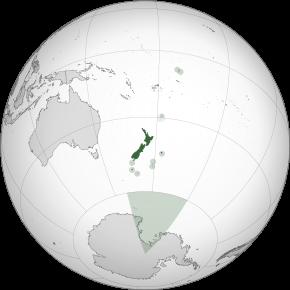 Amplasarea Noii Zeelande