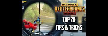 PUBG Top 20 Tips & Tricks