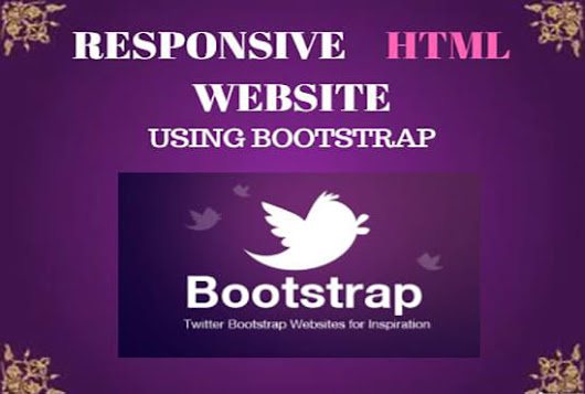 I will create Your PSD to Html With Bootstrap