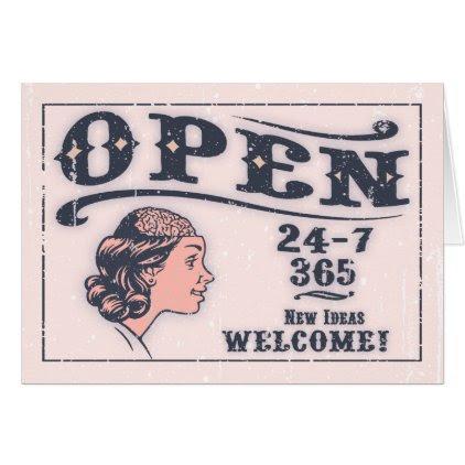 Open Mind -f Card